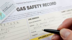 Gas Safety Record Sample